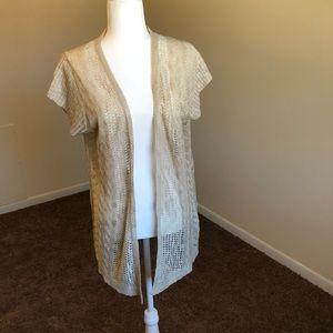 Maurices | Tan Knit Detail Cardigan | Plus Size 2